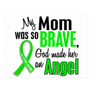 Mamá de la distrofia muscular del ángel 1 postal