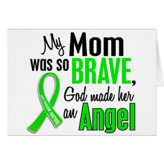 Mamá de la distrofia muscular del ángel 1 felicitación