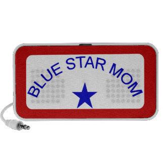 Mamá de la estrella azul iPod altavoces