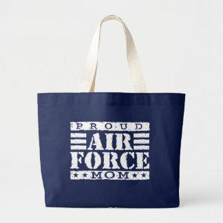 Mamá de la fuerza aérea bolsa de mano