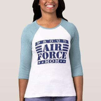 Mamá de la fuerza aérea camiseta