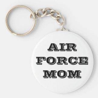 Mamá de la fuerza aérea del llavero