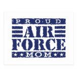 Mamá de la fuerza aérea postales