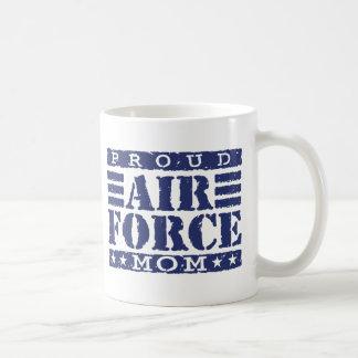 Mamá de la fuerza aérea taza