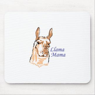 MAMÁ DE LA LLAMA ALFOMBRILLA DE RATONES