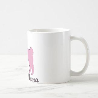 Mamá de la llama tazas de café