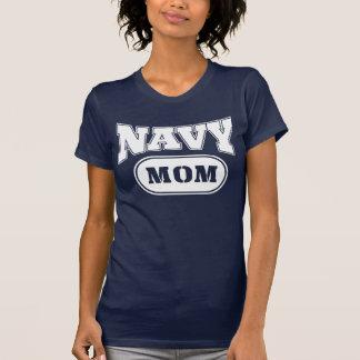 Mamá de la marina de guerra camisetas