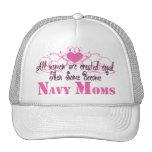 Mamá de la marina de guerra, igual creado gorro de camionero