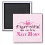 Mamá de la marina de guerra, igual creado imán de nevera