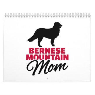 Mamá de la montaña de Bernese Calendario