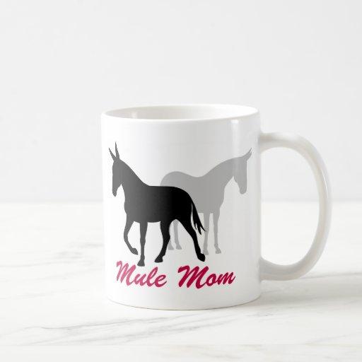 Mamá de la mula de Gaited Taza