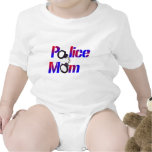 Mamá de la policía camiseta