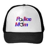 Mamá de la policía gorras de camionero