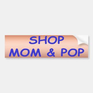 Mamá de la tienda y pegatina para el parachoques pegatina para auto