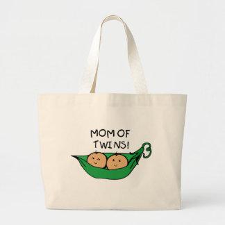 Mamá de la vaina gemela bolsa