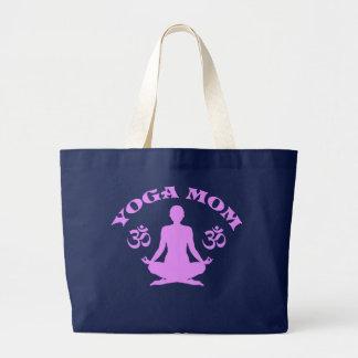 Mamá de la yoga bolsa tela grande