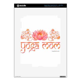 Mamá de la yoga de Lotus iPad 3 Skins