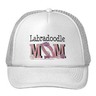 MAMÁ de LabraDoodle Gorras