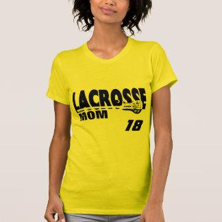 Mamá de LaCrosse con número Camisetas