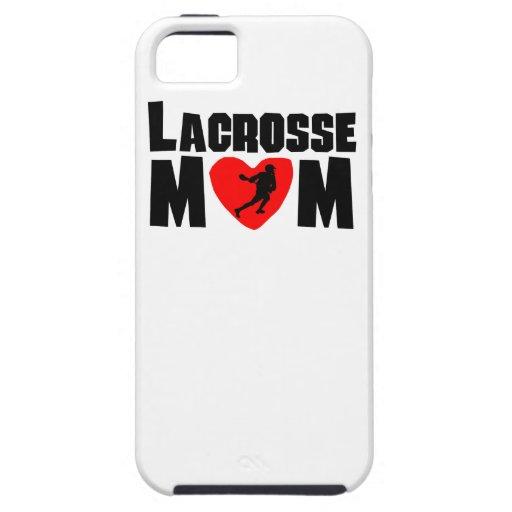 Mamá de LaCrosse iPhone 5 Case-Mate Protectores