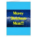 ¡Mamá de las Felices Navidad!!! Tarjeta