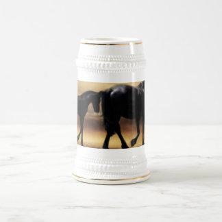 Mamá de los caballos e I Jarra De Cerveza