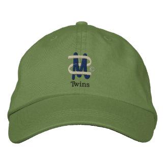 Mamá de los gemelos [2] gorra de beisbol