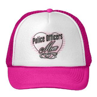 Mamá de los oficiales de policía gorros bordados