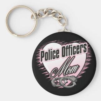 Mamá de los oficiales de policía llaveros