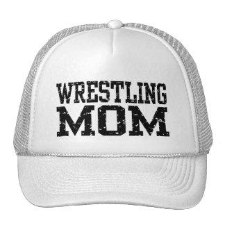 Mamá de lucha gorras de camionero