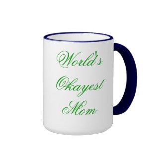 Mamá (de lujo) de Okayest del mundo Tazas De Café