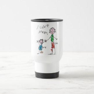 Mamá de Luve Tazas De Café