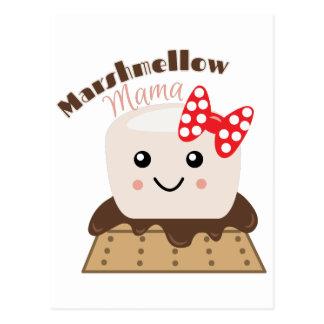 Mamá de Marshmellow Postal