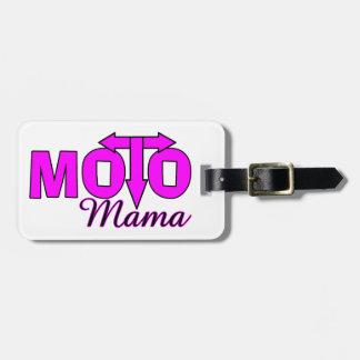 Mamá de Moto Etiquetas Maleta