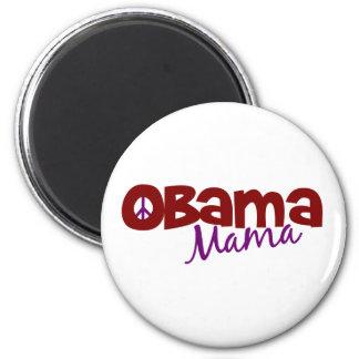 Mamá de Obama Imán Redondo 5 Cm
