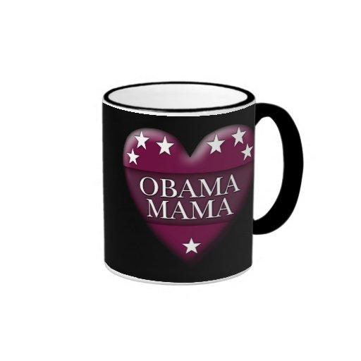 mamá de obama taza de café