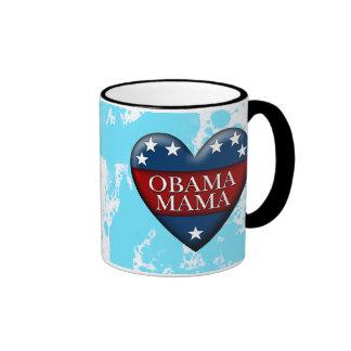 mamá de obama taza de dos colores