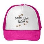 Mamá de Papillon Gorras
