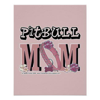 MAMÁ de Pitbull Póster