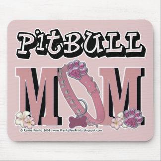 MAMÁ de Pitbull Alfombrilla De Ratón