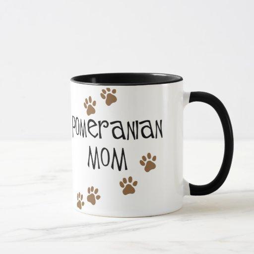 Mamá de Pomeranian