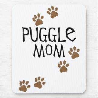 Mamá de Puggle Alfombrilla De Raton