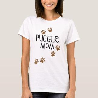 Mamá de Puggle Playera