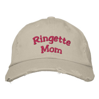 """Mamá de Ringette "" Gorras Bordadas"