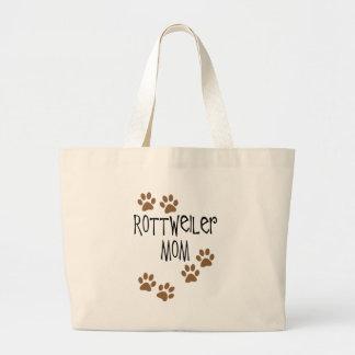 Mamá de Rottweiler Bolsa