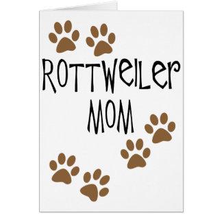 Mamá de Rottweiler Felicitaciones