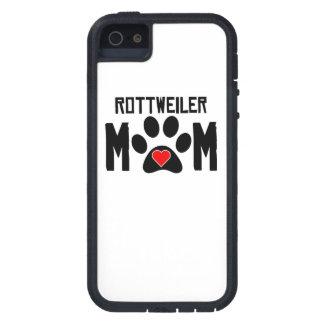 Mamá de Rottweiler iPhone 5 Funda