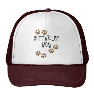 Mamá de Rottweiler Gorras De Camionero