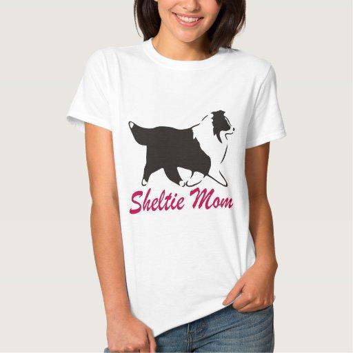 Mamá de Sheltie del perro pastor de Shetland Playera