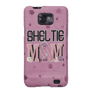 MAMÁ de Sheltie Galaxy S2 Carcasas